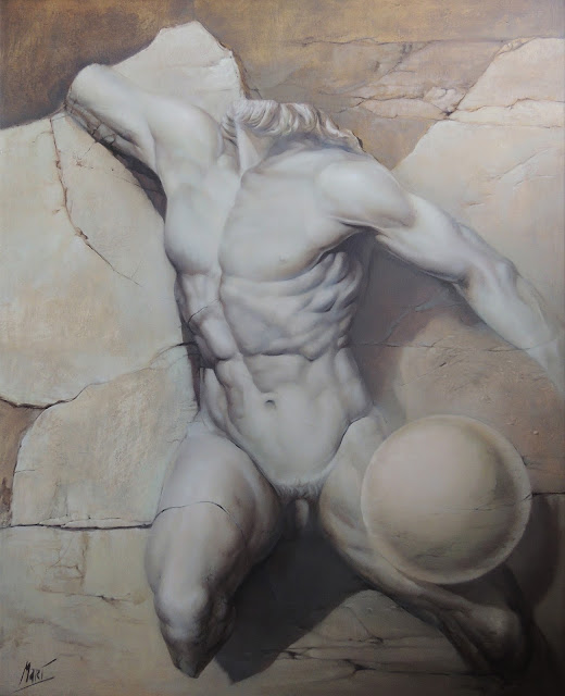 José Marí pintura surrealista arte laoconte grecia roma