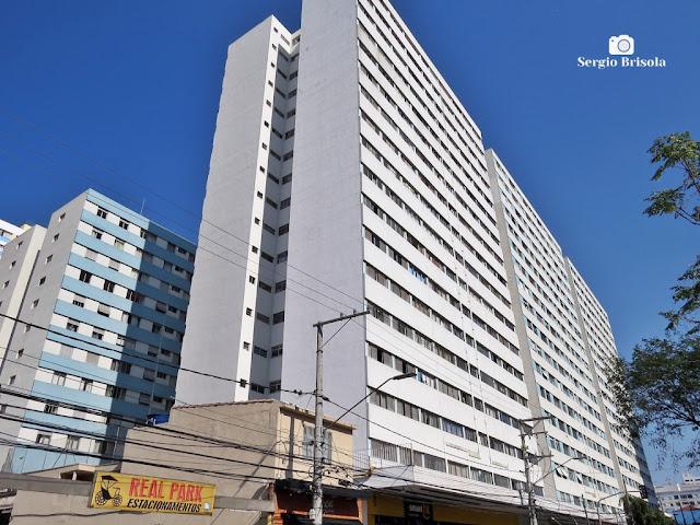 Vista ampla do Conjunto Habitacional Vila Mariana - Mirandópolis - São Paulo