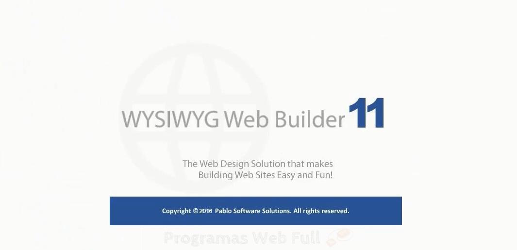 WYSIWYG Web Builder 11