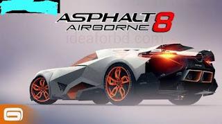 Asphalt 8: Airborne v2.6.1a Apk+Data game free download