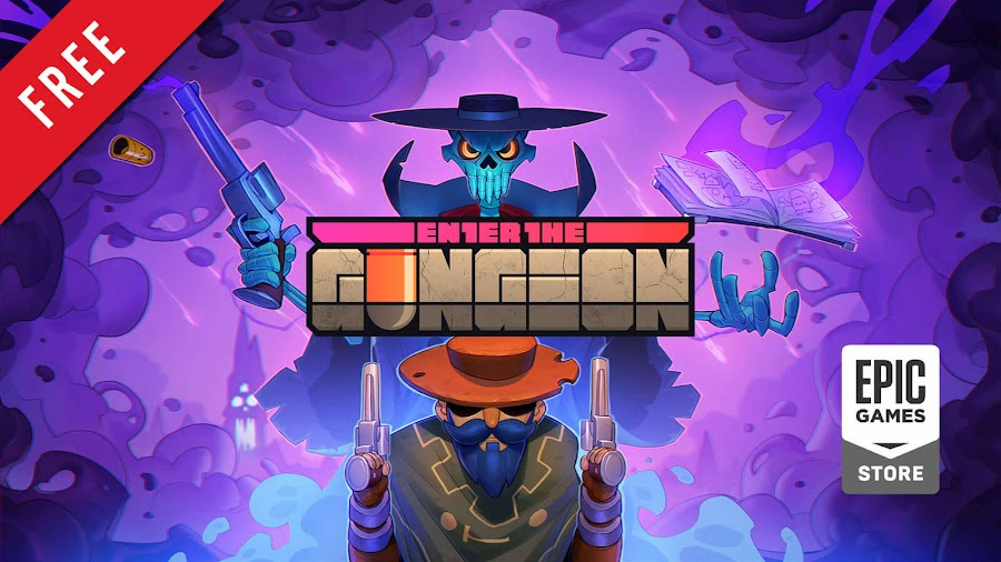 enter the gungeon free pc epic games store devolver digital bullet hell shooter