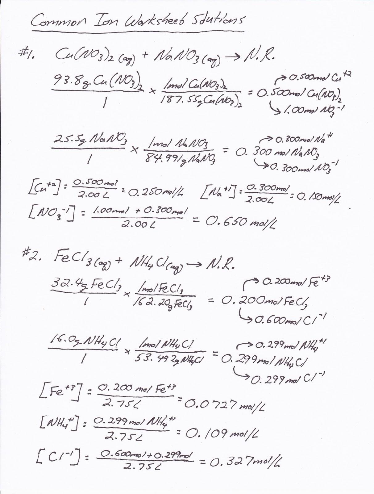 Mr Brueckner S Ap Chemistry Blog September