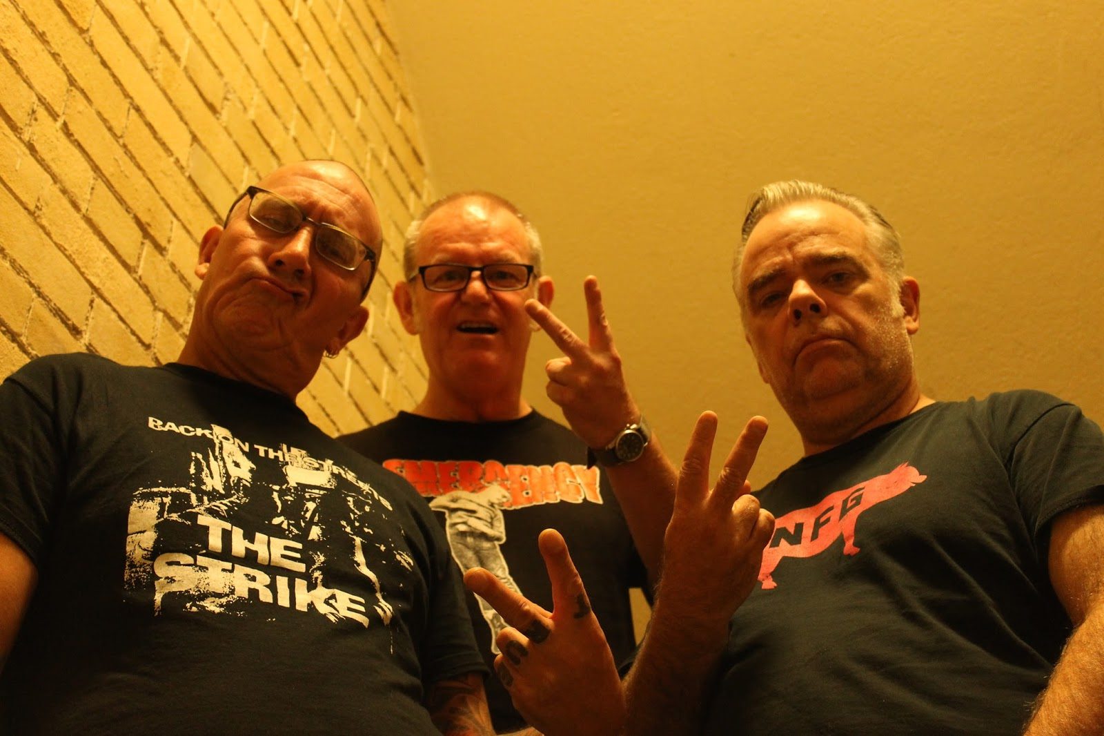 The Strike are an oi band, originally from Cannich, which is the Highlands  of Scotland some 30 clicks outside of Inverness. Significant to the punk  scene ...