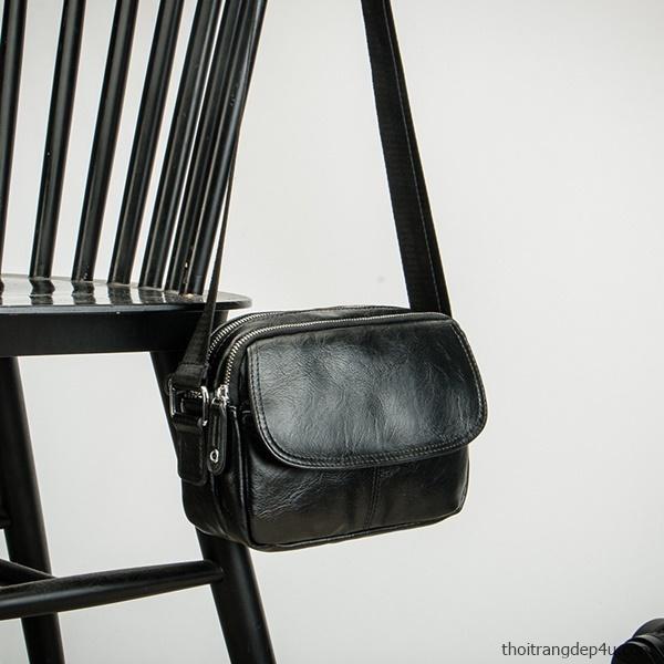 Túi đeo chéo sang trọng da nam thời trang phong cách DNM009