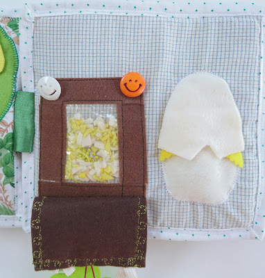 Развивающая мягкая книга для детей ручной работы