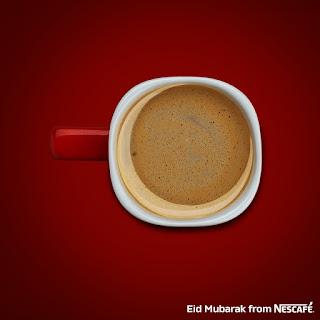 اعلانات شركة نسكافيه Nescafe للعيد