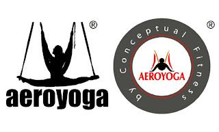 logo aeroyoga yoga aéreo
