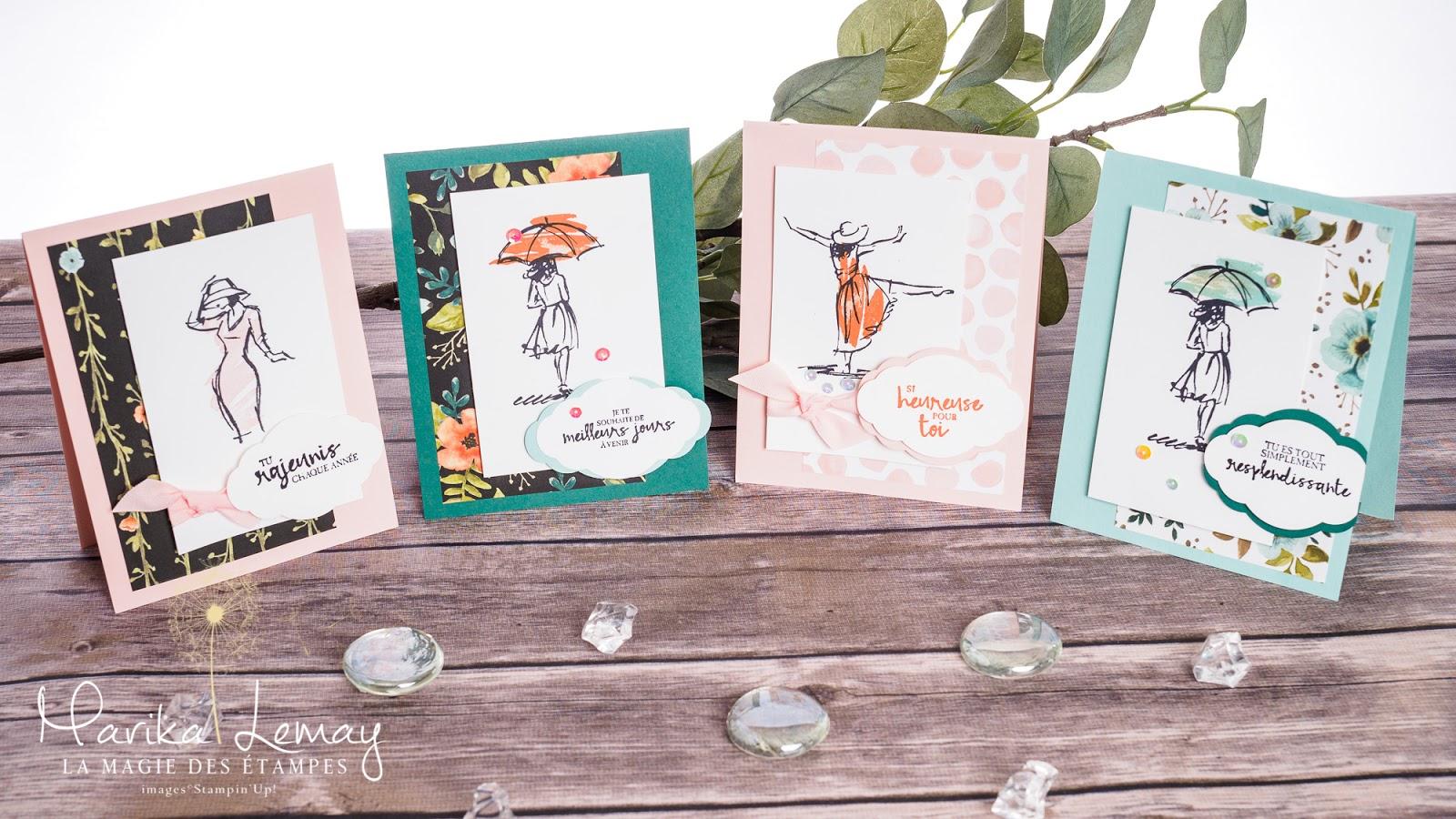 marika lemay la magie des tampes cartes estampage scrapbooking produits stampin 39 up. Black Bedroom Furniture Sets. Home Design Ideas