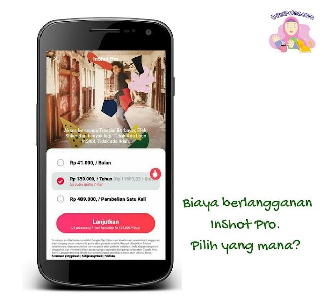 berlangganan aplikasi edit video