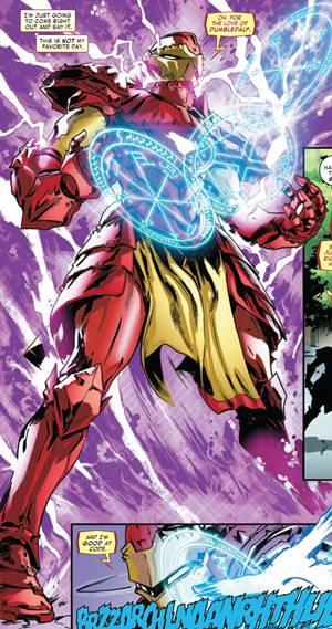 Armadura Iron Man en Guerra de Reinos 2018