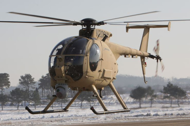 Boeing Unmanned Little Bird (ULB) H-6U Helicopter