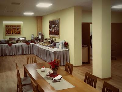 Hotel Pod Wulkanem, Kluszkowce, sala śniadaniowa