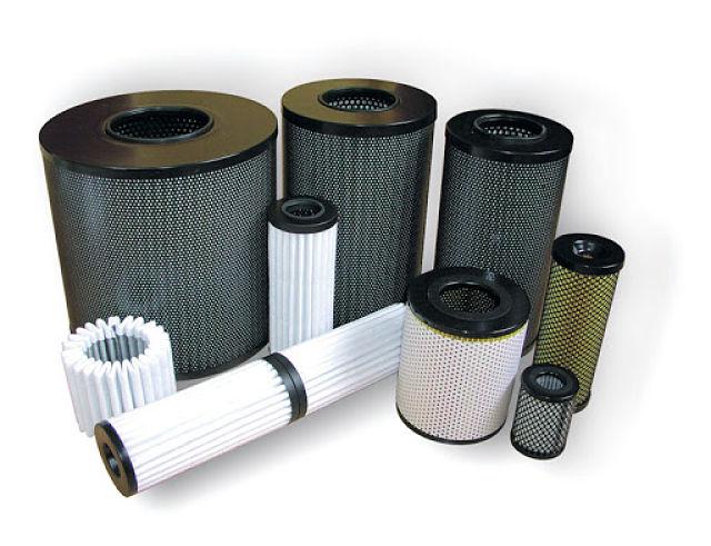 Filtros para uso industrial
