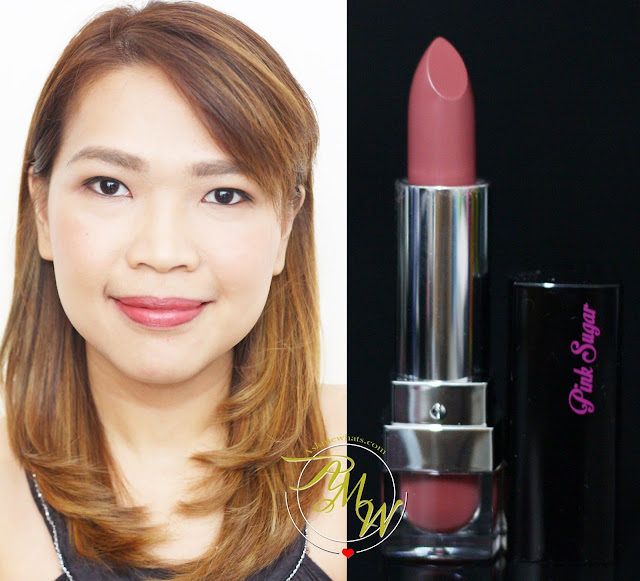 a photo of Pink Sugar Creamy Matte Lipstick in XOXO