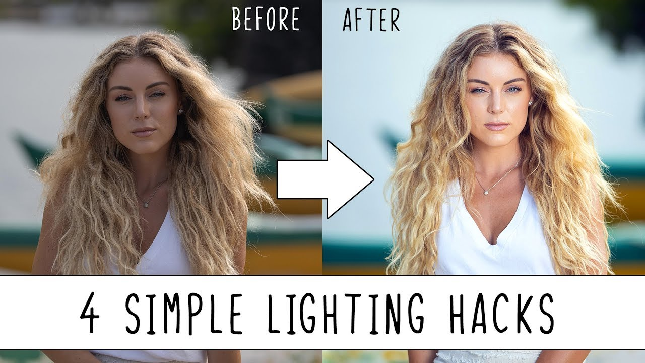 4 Simple Lighting Hacks to Improve Your Photography!
