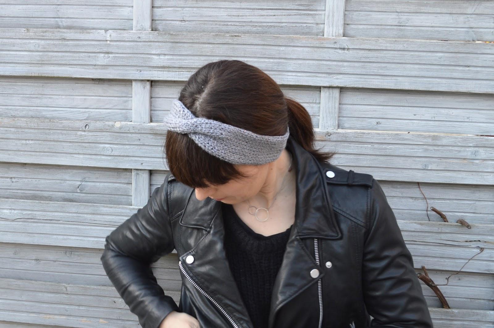 comment tricoter un headband. Black Bedroom Furniture Sets. Home Design Ideas