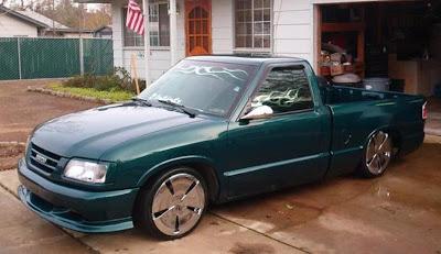 isuzu panther pick up tahun 1999 modif