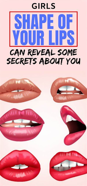 Girls, Shape of Your Lips Can Reveal Some Secrets About You