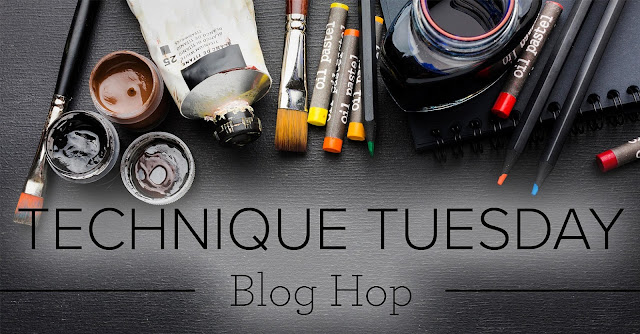 Crafty Collaborations Technique Tuesday Blog Hop Banner