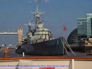 Acorazado HMS Belfast de la armada británica