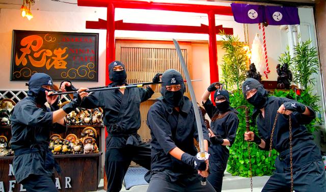 Ninja Cafe & Bar Asakusa