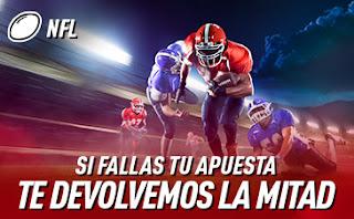 sportium NFL: Haz una apuesta y si fallas... ¡Te damos otra!