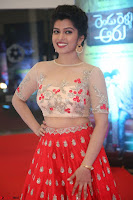 Mahima in beautiful Red Ghagra beigh transparent choli ~  Exclusive 100.JPG