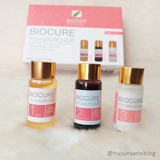 Bioder Biocure Tüy Azaltıcı Kür Yorum