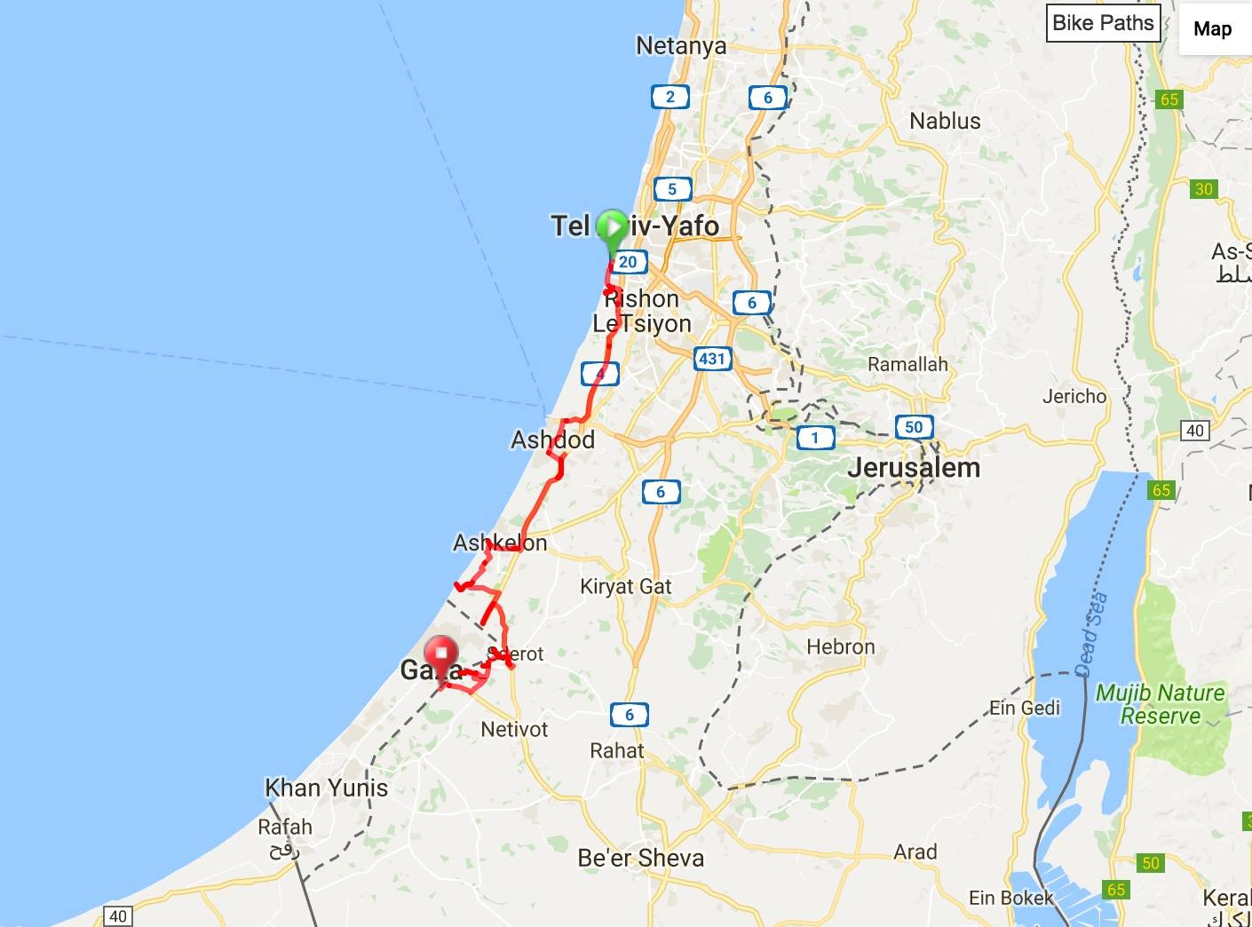 Green Olive Tours Blog Palestine Israel Jaffa to Gaza A Short