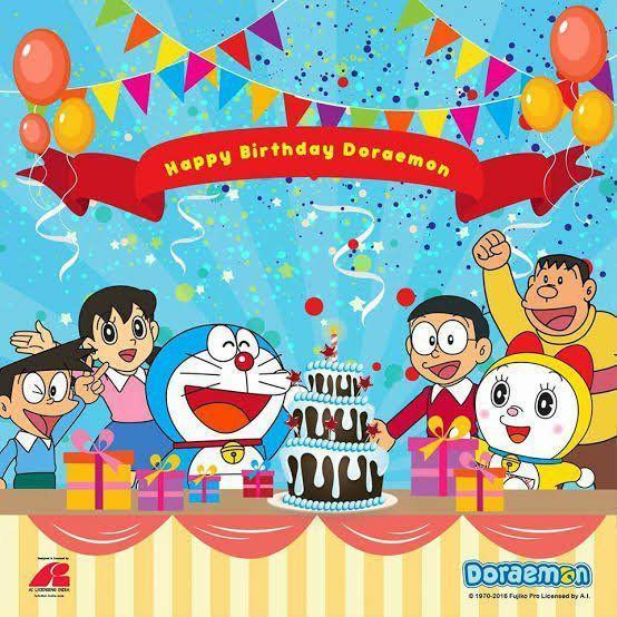 Happy Birthday Doraemon