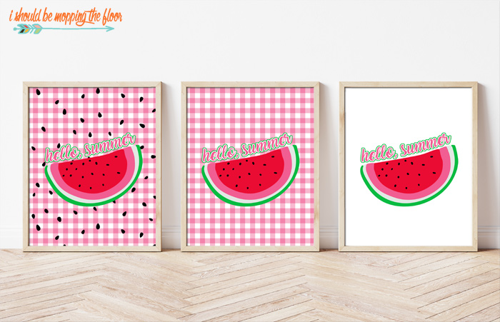 Watermelon Printables