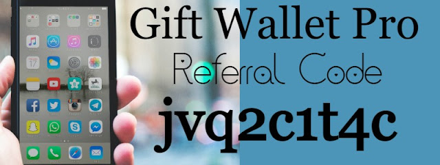 Gift Wallet Pro Invite Code 2021, Gift Wallet Pro App Referral Code 2021, Gift Wallet Pro Legit, About Gift Wallet Pro