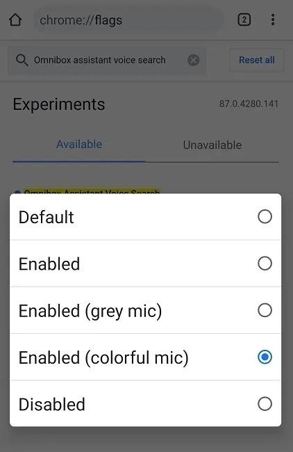 كيفية استخدام مساعد جوجل في كروم على أندرويد ملون