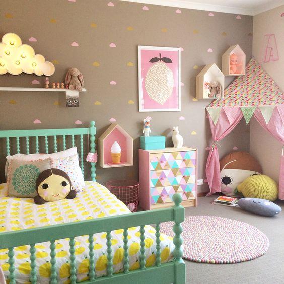 Living by Miriam: Att inreda ett färgglatt barnrum - inspiration