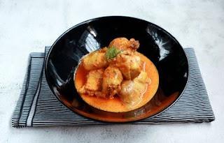 resep kuliner lontong kari ayam Bandung