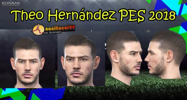 Theo Hernández Face PES 2018