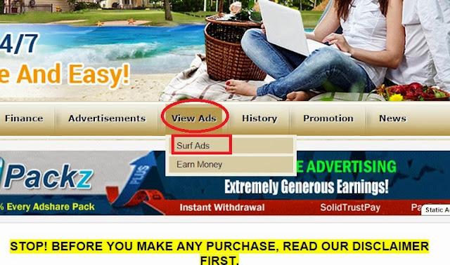 Hướng dẫn xem quảng cáo Clickadpays