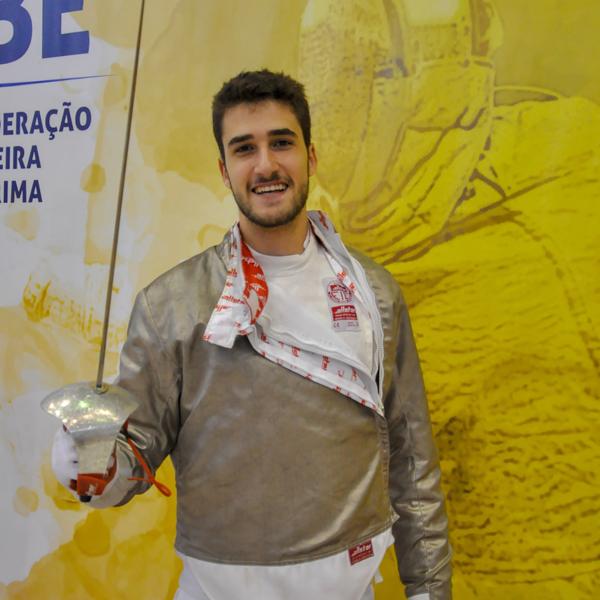 Bruno Pekelman esgrima CBE Brasil Pré-Olímpico
