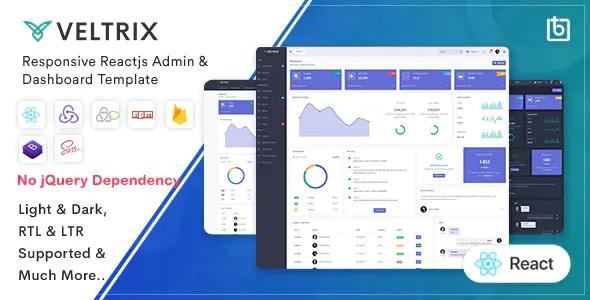 Best React Js Admin & Dashboard Template