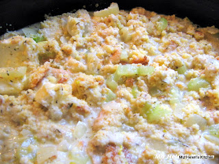 Slow Cooker Cornbread Dressing at Miz Helen's Country Cottage