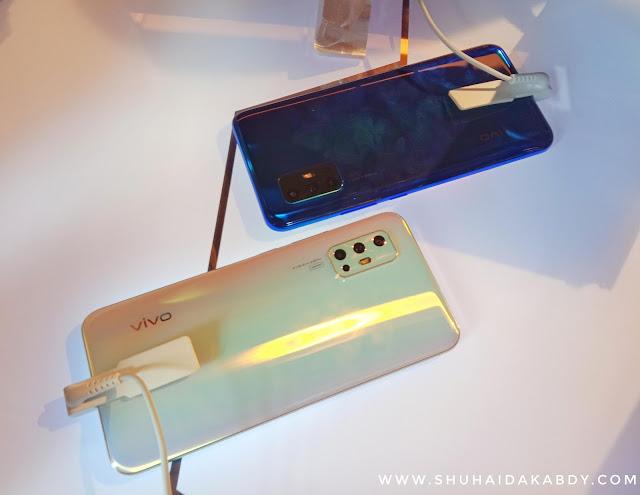 ViVo V17 Dengan Skrin Ultra O dan 5 Kamera Terkini di Pasaran