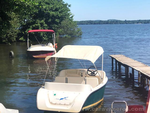 Alquiler de barcas eléctricas en el lago Léon, Las Landas