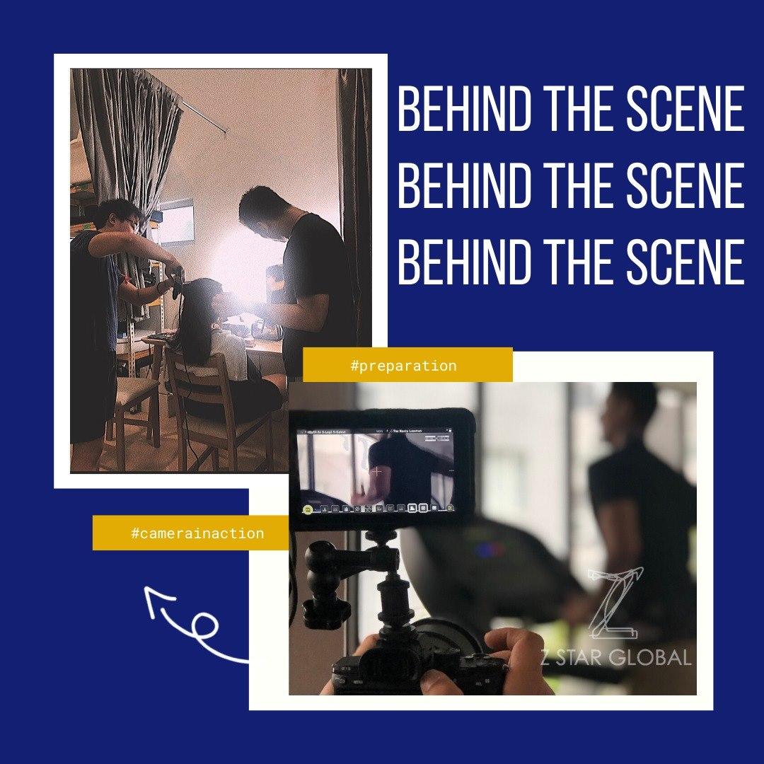 Aktiviti dari belakang tabir (Behind The Scene) yang dijalankan oleh ZStar Global