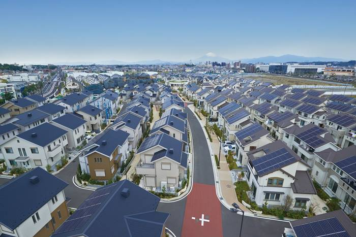 eco development, eco town, eco-city, electrical car town, fujisawa sst, green town, japan eco city, japan green city, panasonic eco city,smart grid city, fujisawa green city