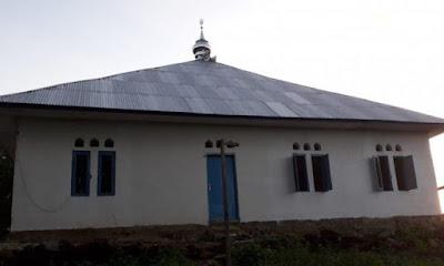 Masjid Tureng, NTT, dibangun kembali menjadi bangunan baru