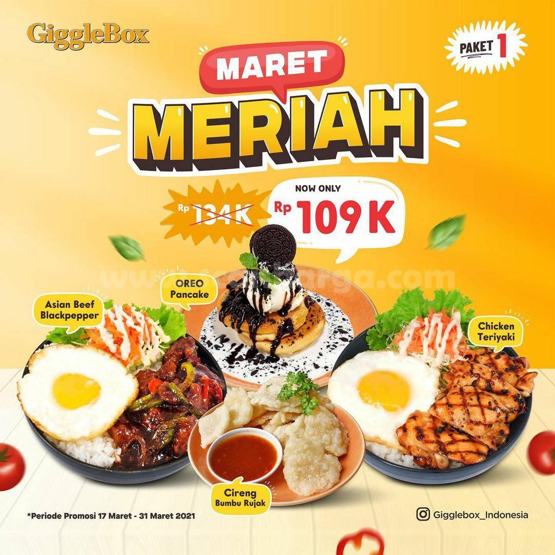 Promo GIGGLE BOX Harga Spesial Paket Maret Meriah! Hanya Rp 109.000