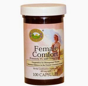 Female Comfort   Omega-3,Canxi - Magnesium,Paw Paw Cell