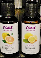 100% pure grapefruit lemon essential oil aroma therapy boost energy cravings weightloss depression