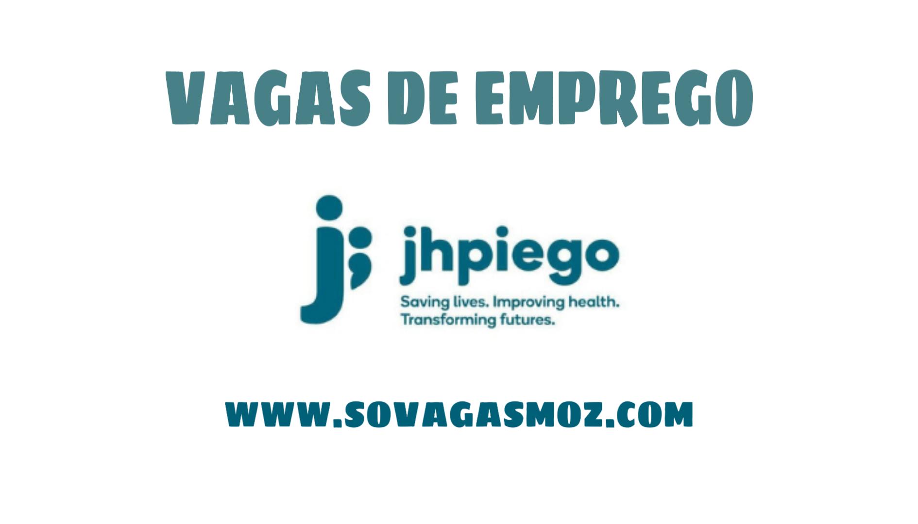 Jhpiego Recrutamento Moçambique 2020