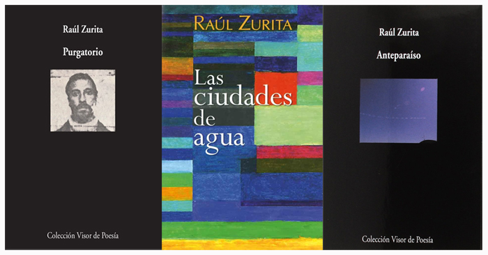 Tres libros de Raúl Zurita en Bestia Lectora